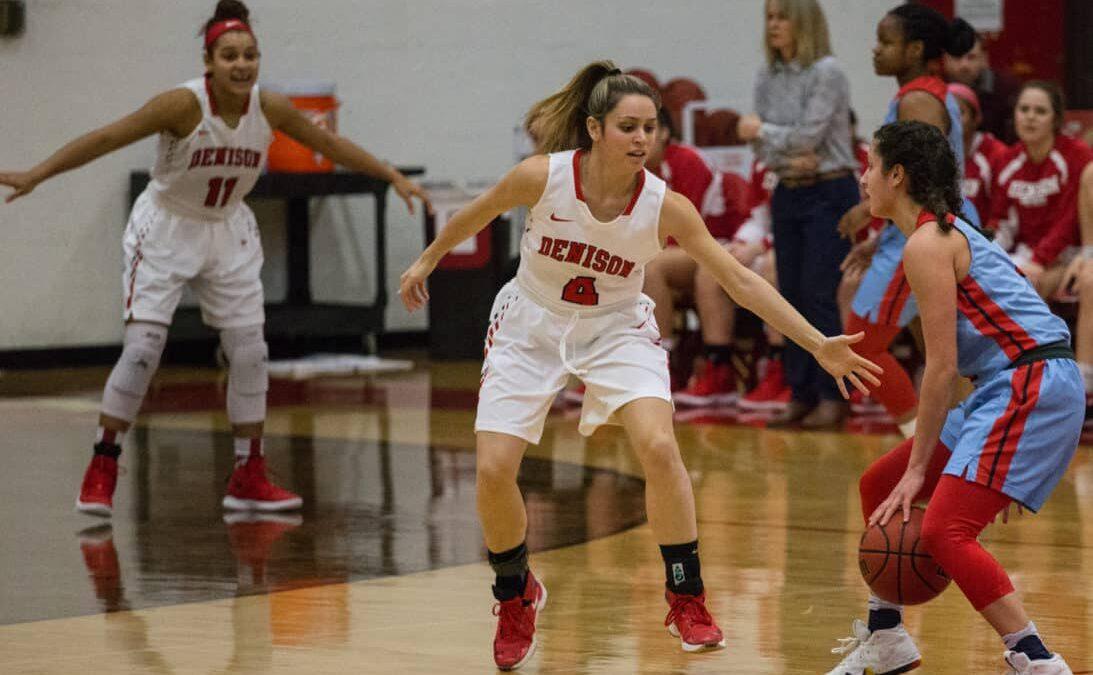 Women's basketball falls short in NCAC Championship game