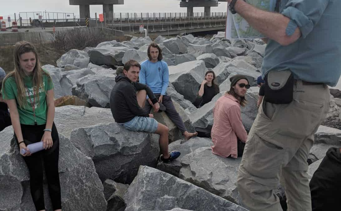 Denison geoscience explores North Carolina's outer banks