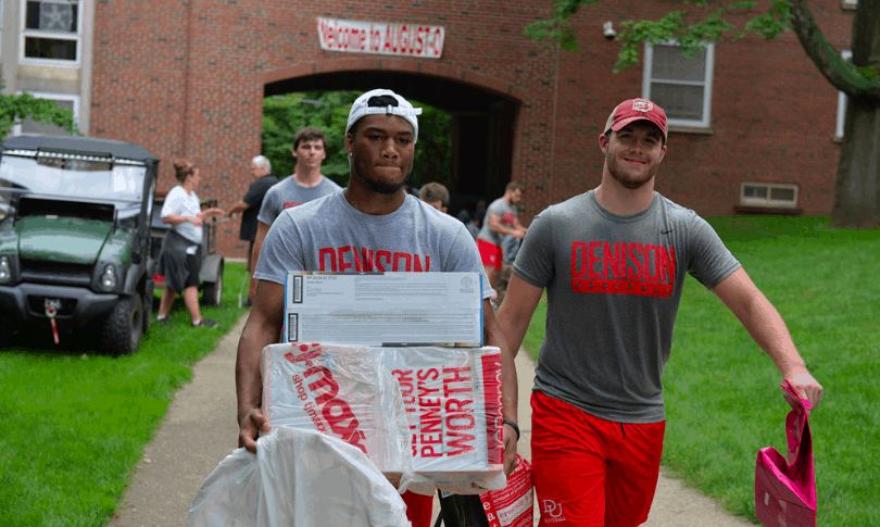Denison welcomes the class of '23 and new renovations to the hill