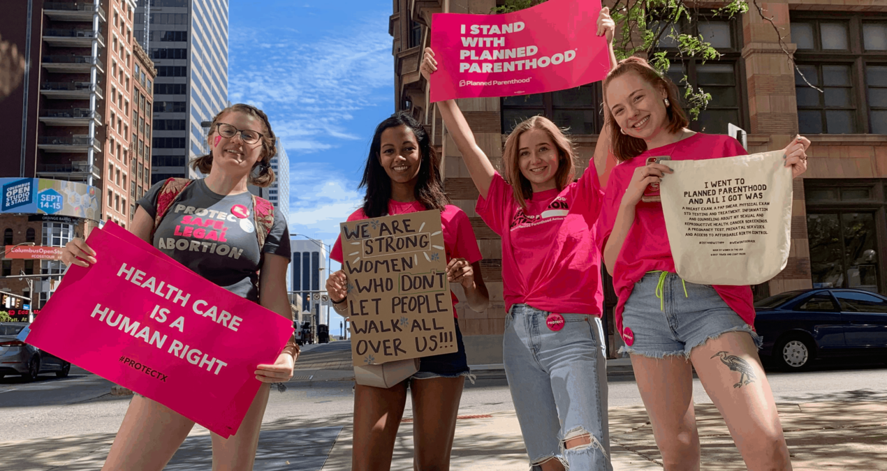 Denisonians for Planned Parenthood start the year with a rally