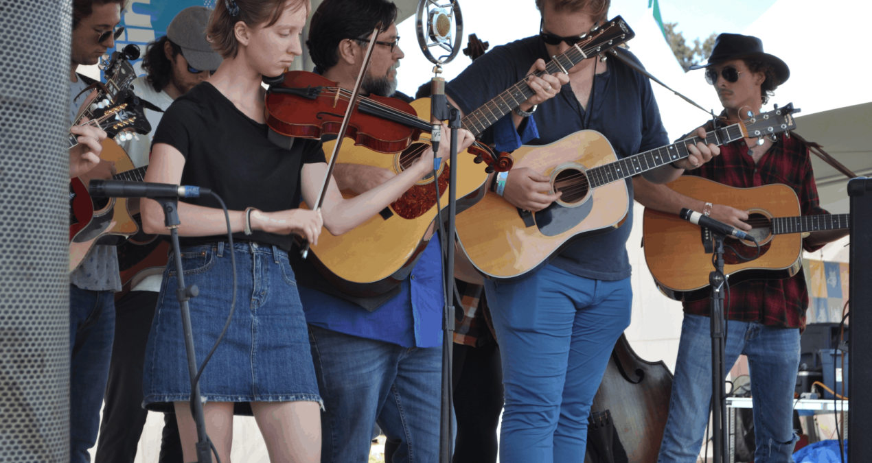"Denison Bluegrass ensemble performs at local music festival ""Ohiolina"""