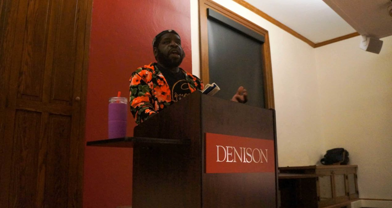 Hanif Abdurraqib stuns with Beck Series Reading