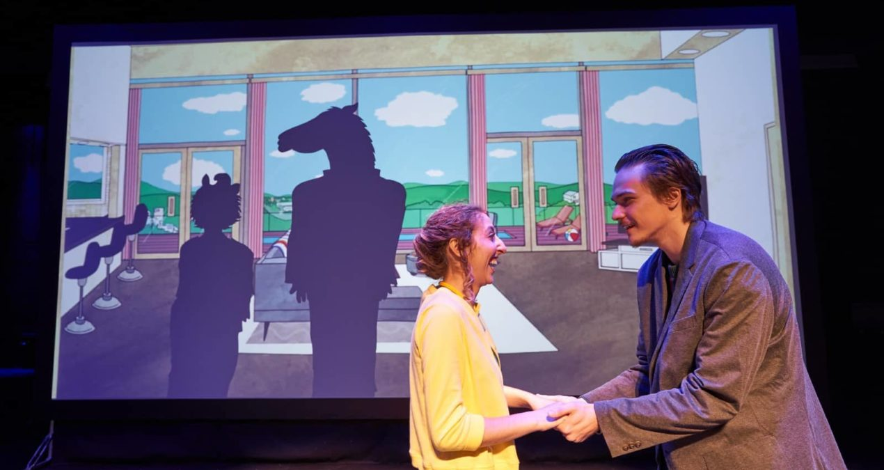 Bojack Horseman graces the stage for the first time