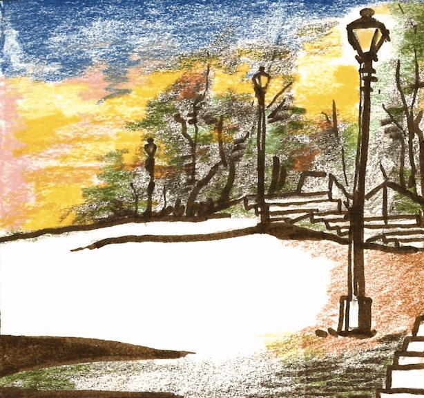 Art: Autumn on The Hill