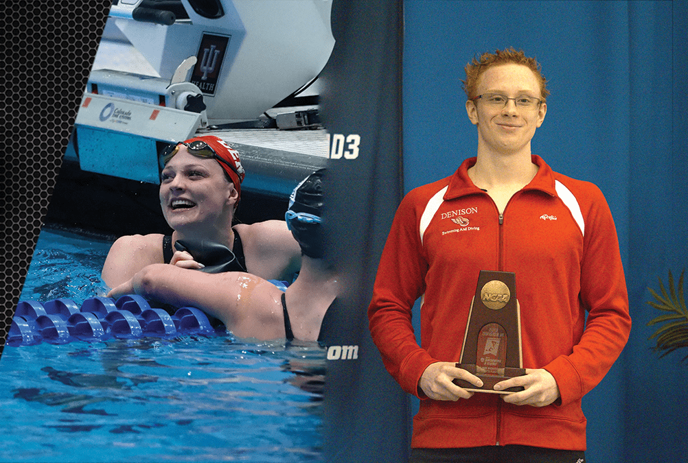 Two Denison swimmers qualify for Olympic Trials