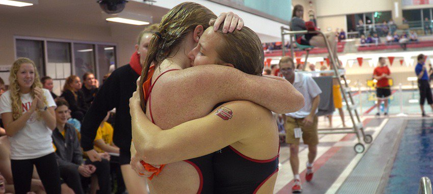 The swim and dive team's success lies in their extraordinary culture