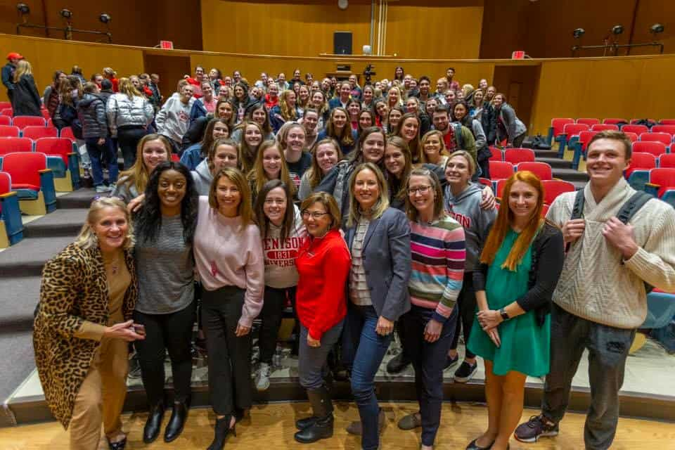 Girls and Women in Sports Day presents student athlete alumnae panel