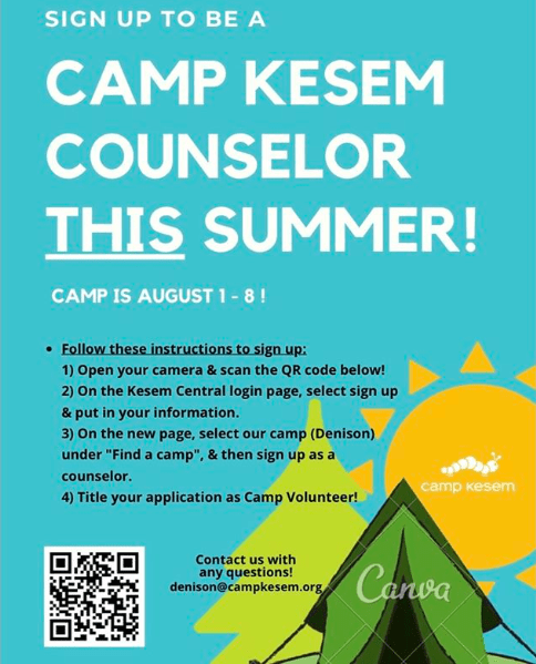 Call for Camp Kesem counselor applications