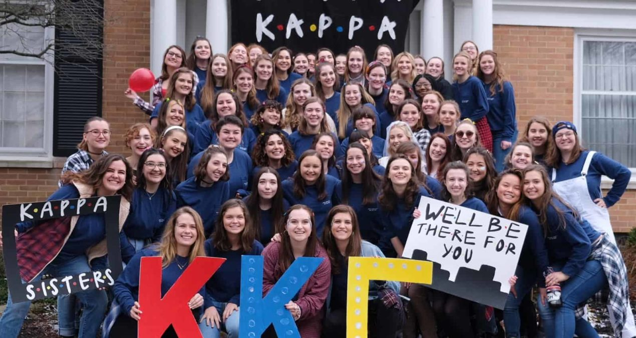 Bid Day 2020: Sorority recruitment is a vibrant day for Denison