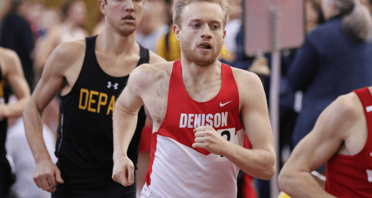 Denison indoor track and field finishes strong at NCAC this past weekend