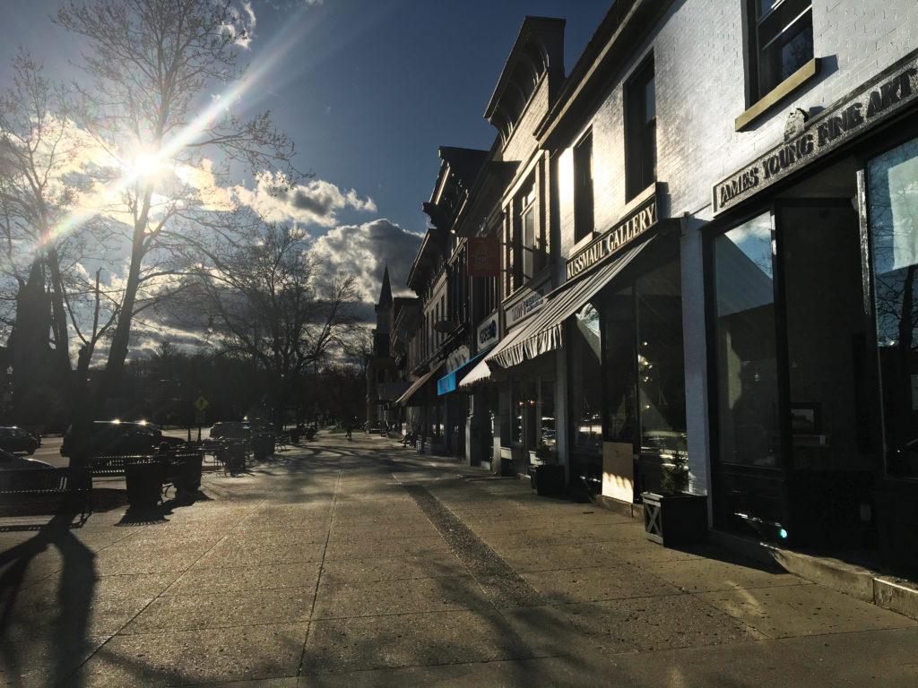 empty granville street