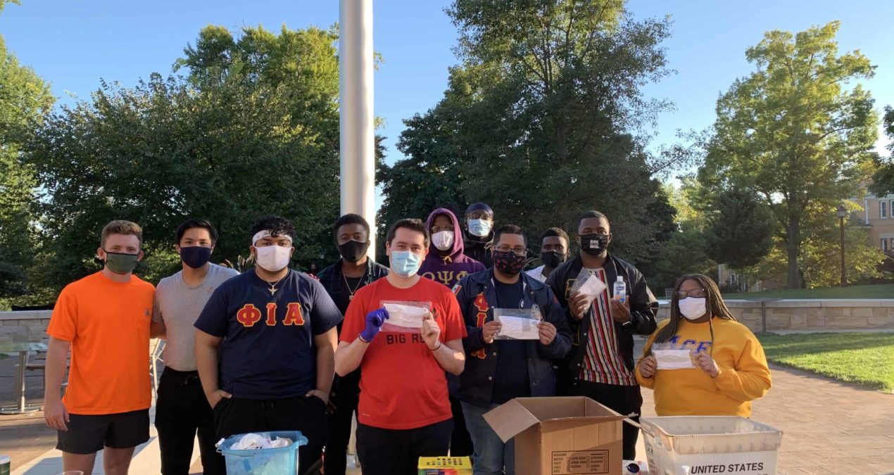 Photo essay: Phi Iota Alpha Fraternity, Inc. socializes safely with tie dye event