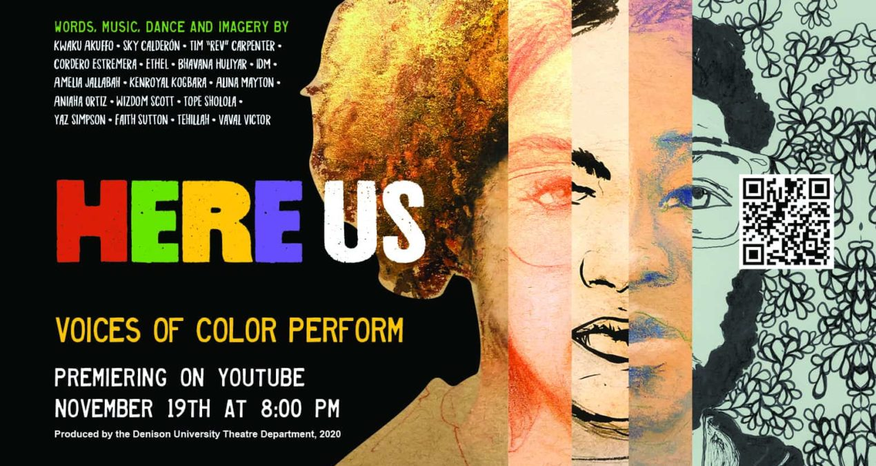By and for POC: Student artists come together for Here Us