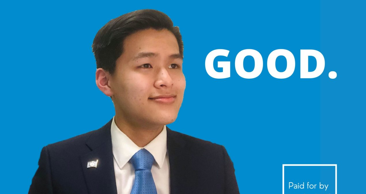 Alex Pan '24 Runs for New York City comptroller at 18 years old
