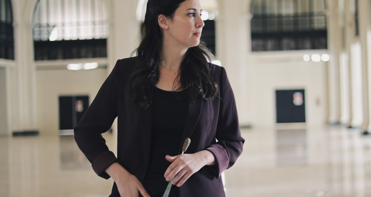 Dr. Chelsea Gallo embraces liberal arts by blending music and sciences