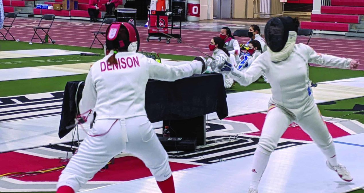 Denison Women's Fencing: from club sport to varsity team