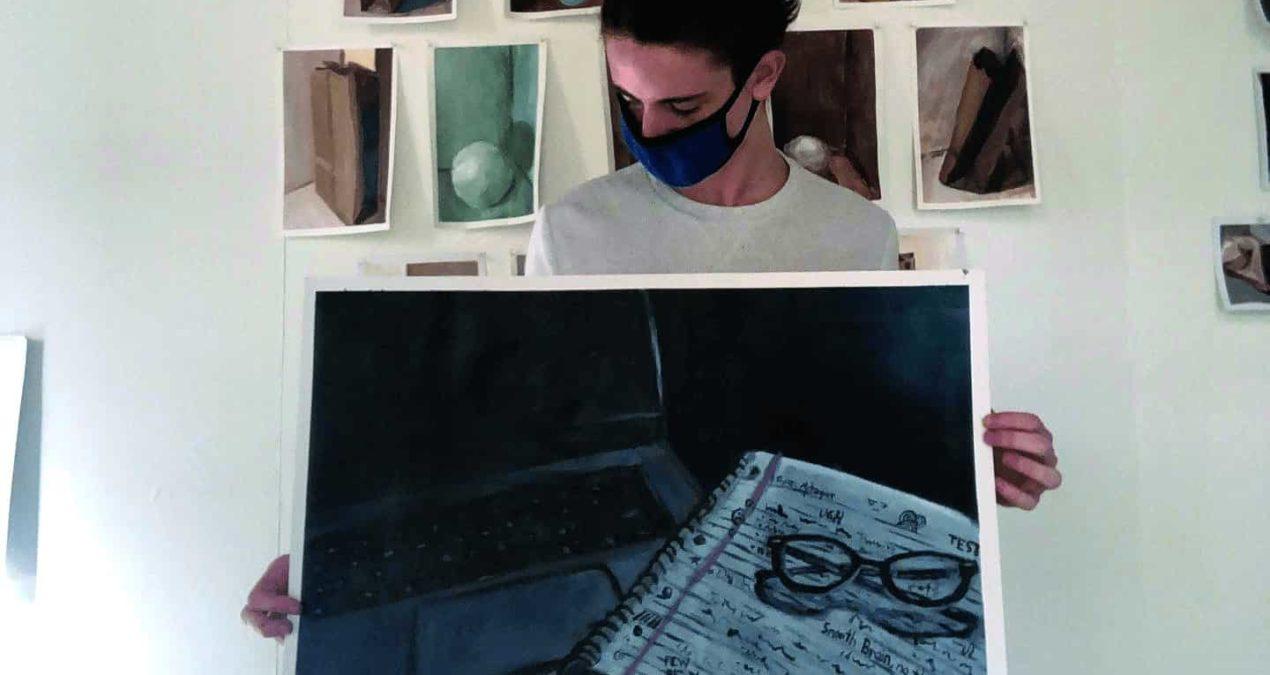 Student Artist Spotlight: Ryan Metzger '23