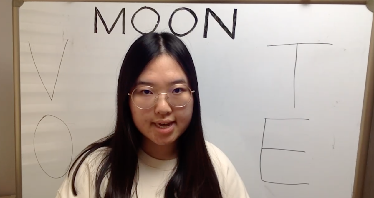 MEET THE DCGA PRESIDENTIAL CANDIDATE: SARAH MOON '22