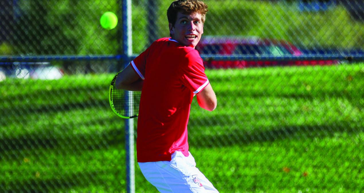 Varsity Men's Tennis breaks 15-year losing streak against Kenyon