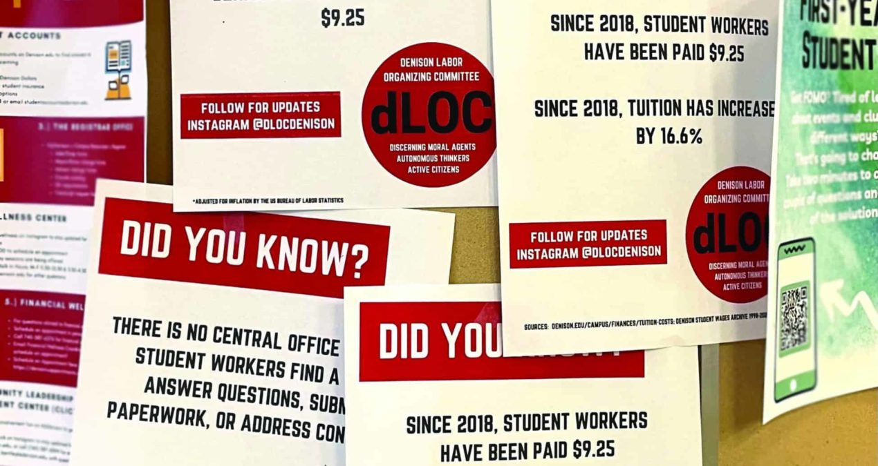denison Labor Organizing Committee: Did you know?